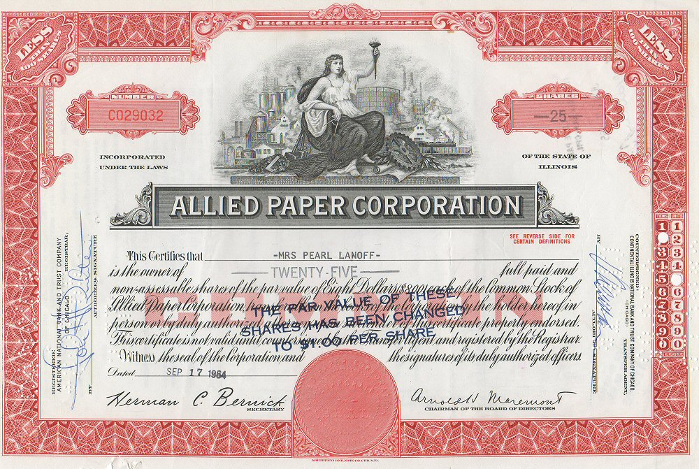 Originally published on http://en.wikipedia.org/wiki/Allied_Paper_Corporation