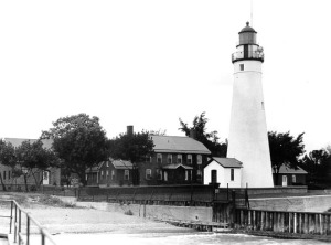 Fort Gratiot, and Michigan's first lighthouse