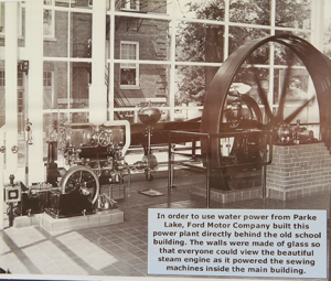 Henry Ford steam engine