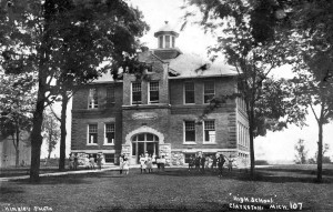 Clarkston Union School, 1915