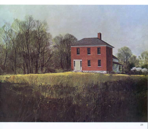 This was the first house built in Michigan, and it is still standing! This rosy brick house may very well be the oldest brick building still standing in the State of Michigan.