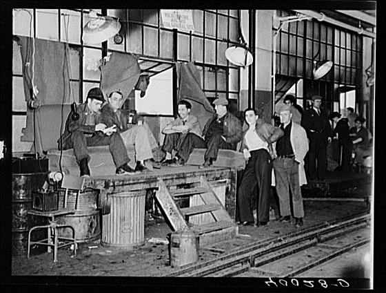 Fisher Body Plant Sit Down Strike 1936-1937