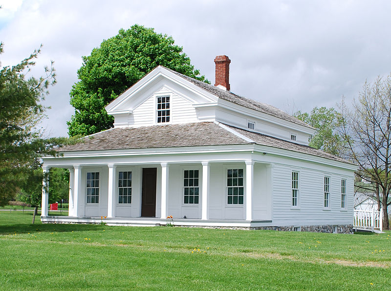 One Room School House Green Township