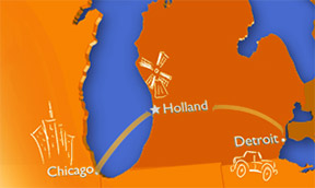 Holland's Location