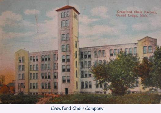 There Were Multiple Furniture Companies That Called Grand Ledge Their Home,  But The Two Most Prominent Of The Bunch Was The Grand Ledge Chair Company  ...