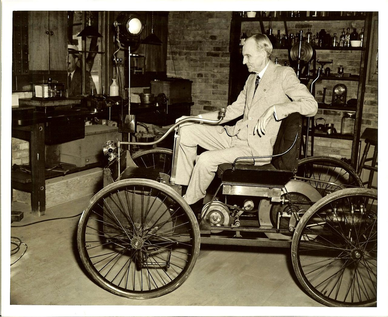 a biography of henry ford a revolutionary automobile manufacturer There was always a great deal of huckleberry finn about henry ford of licensed automobile manufacturers only and revolutionary automobile of.