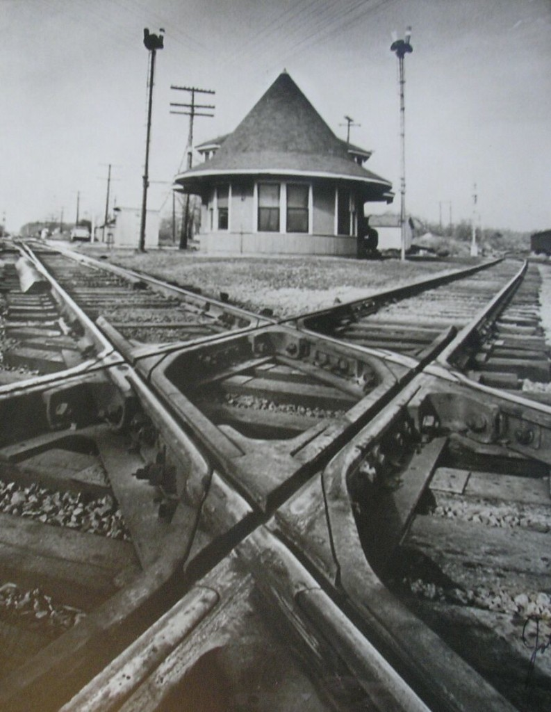 This is a picture of the Witch's Hat Depot where it used to be located. (Trail Towns Tour-An Easy Ride Into History)