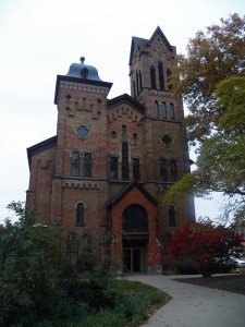 First Congregational Church, a station on the Underground Railroad