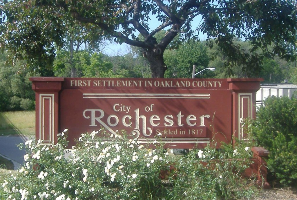 Rochester_Michigan_Welcome_Sign