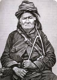 Above is the well known Chief Okemos. This is a well known photo of him that was taken in 1850.