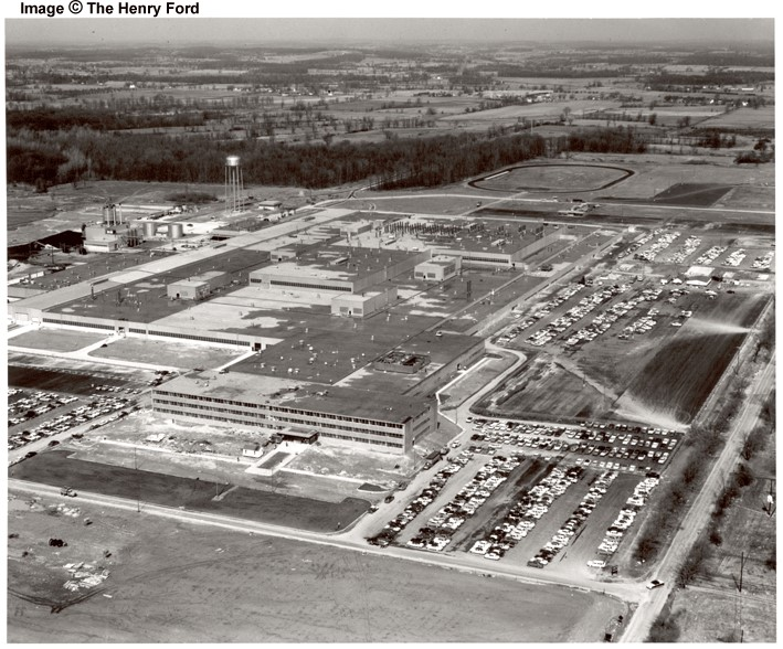 The Wixom Assembly Plant Michigan History