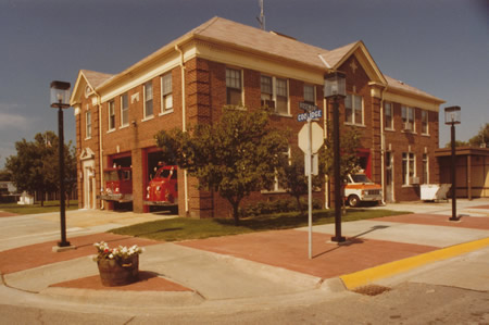 The Old Fire House that now houses the Berkley Museum