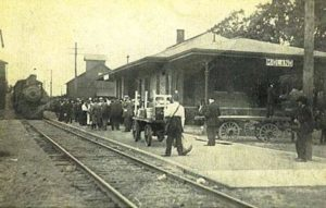 The Midland stop on the Marquette Railroad